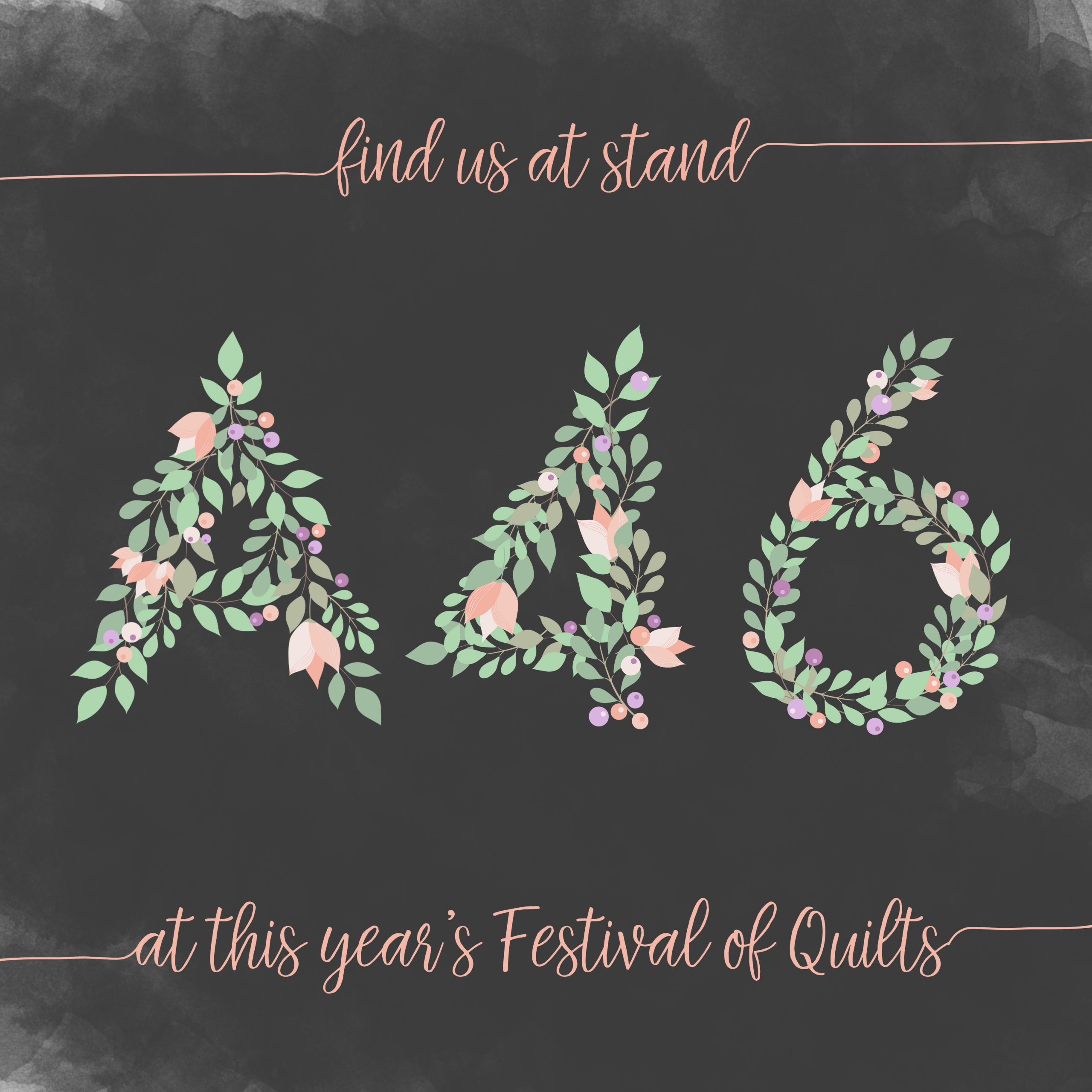 Find MachineQuilter at Stand A46 at the Festival of Quilts 2018